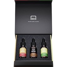 DELUXE EDITION 3 Beard Oils Set: Sandalwood, Cedarwood and Unscented - USA's TOP image 6