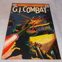 DC Silver Age Comic Book G I Combat No 123 Haunted Tank FV - $12.95