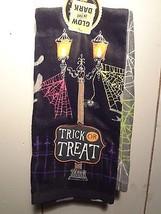 Trick or Treat Spiderwebs Kitchen Towel 2pc. Set (Glow-in-the-dark) - $6.79