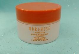Borghese FANGO BODY REFINING POLISH Sugar Scrub Exfoliate Dry Skin TRAVE... - $6.22