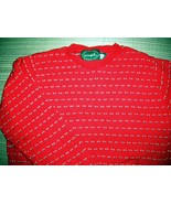 Lake Harmony Rowing Club 100% ALL COTTON Red Sweater size M  - $10.00