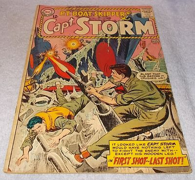Primary image for DC Silver Comic PT Boat Skipper Capt Storm 1964 No 2 F/FV