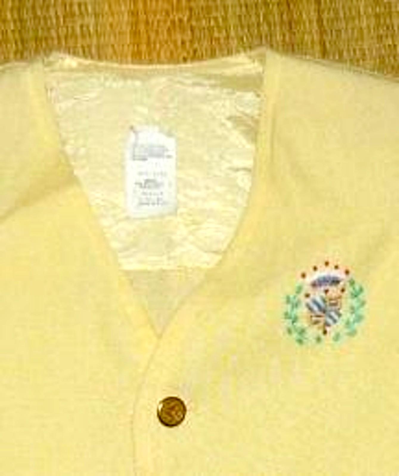 Preppy Yellow Linen Sport Jacket For 3T
