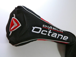 CALLAWAY DIABLO OCTANE DRIVER HEAD COVER, GOOD CONDITION, SHIPS TODAY - $6.97