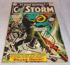 DC Silver Comic Book Pt Boat Skipper Capt Storm No 1 VG/FN - $9.95