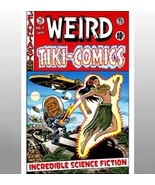 """Weird Tiki Comics #1 Cover art print ( Sci-Fi / Comics Art ) - $25.00"