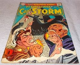 Dc Silver Comic Book PT Boat Skipper Capt Storm No 13 FN 1966 - $9.95