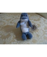 "Rare TY Original Beanie Babies "" Echo "" The Dolphin-With ""Waves The Whal... - $989.99"