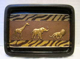 Animal parade soap dish, or other uses - $4.75