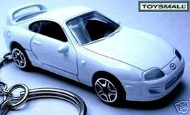 KEY CHAIN 91~95~1996/1997/1998/1999 WHITE TOYOTA SUPRA - $39.95