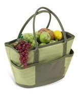Picnic at Ascot Hamptons Picnic Basket Tote for 4 - €58,63 EUR