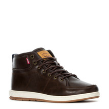 LEVIS BARSTOW BURNISH II ATHLETIC SPORTS SNEAKER MEN SHOES BROWN SIZE 9.... - $69.29