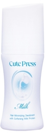 CutePress Milk Hair Minimizing Deodorant with softening Milk Protein