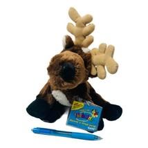 "Webkinz  Reineer with Sealed Code HM137 Plush Stuffed Animal 8"" Toy - $12.00"