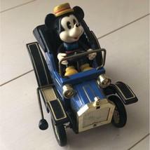Minney Mouse Tin Toy Car Tinplate Walt Disney Productions Masudaya Used ... - $93.49
