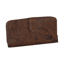 Buxton  Heiress Ensemble Clutch  - Mahogany - $55.90