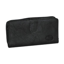Buxton  Heiress Ensemble Clutch  - Black - $46.90