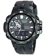 Casio Men's PRW-6000Y-1ACR Pro Trek Black Analog-Digital Sport Watch - $539.69
