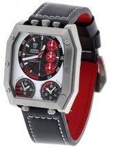 DETOMASO Men's DT1013-B TORINO CHRONOGRAPH XXL Triple-Time Trend Schwarz... - $257.05