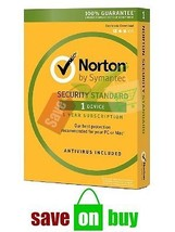 Norton Security 2016-  Multidevices- 1 User, 1 ... - $23.36