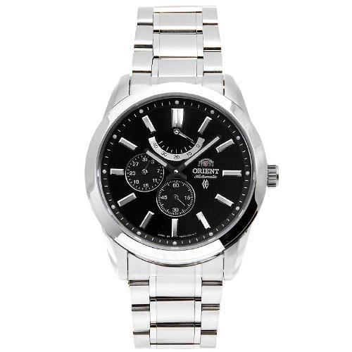 Primary image for Orient Men's Dial Silver Strap Round Shape Black