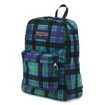 JanSport Superbreak Student Backpack - Mammoth Blue Preston Plaid - $34.99