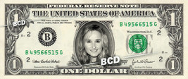 MELISSA ETHERIDGE on REAL Dollar Bill Cash Money Bank Note Currency Dinero - $5.55
