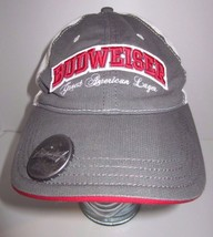Budweiser Great American Lager Hat Cap - Built In Bottle Opener - Snapback - $23.45