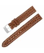 Breitling 500P 15-14mm Genuine Alligator Leather Brown Ladies Watch Band... - $199.00