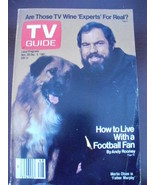 TV Guide 1496~Nov 28, 1981~Merlin Olsen~no label~blank crossword~ - $12.82