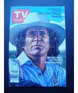 TV Guide 1502~Jan 9, 1982~Michael Landon~J Fred Muggs Awards~Richard Hes... - $12.82