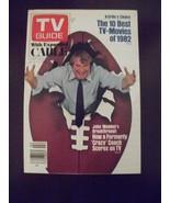 TV Guide 1554~Jan 8, 1983~John Madden~best tv movies of 1982~Detroit edi... - $14.80