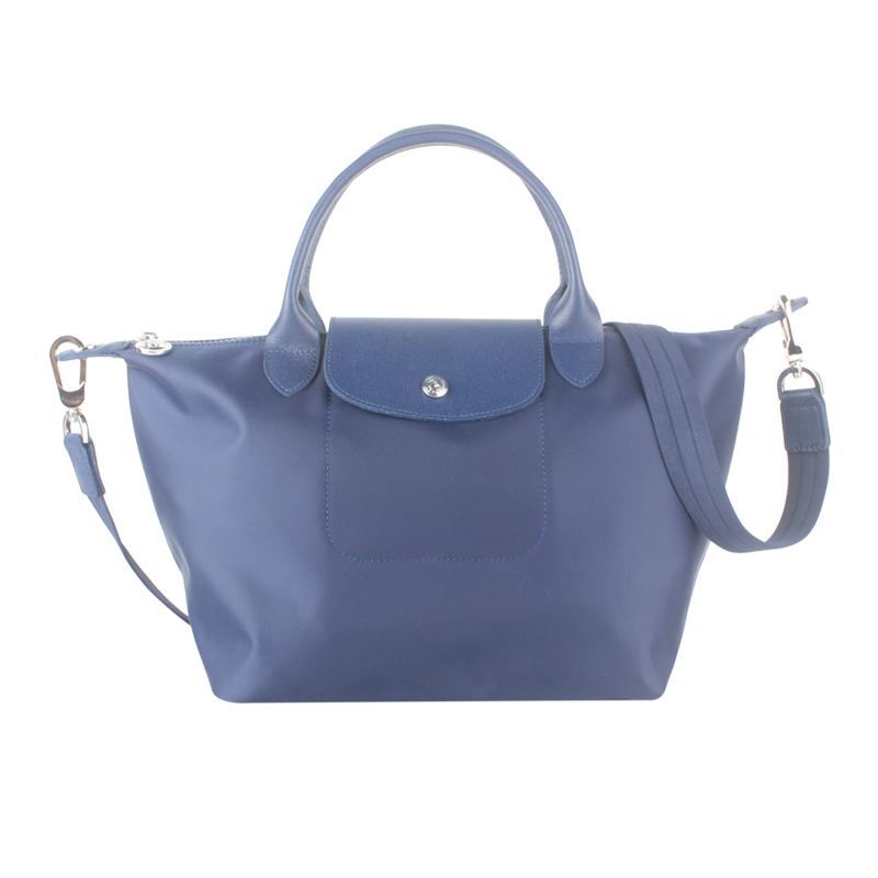 1512. 1512. Francee Made Longchamp Le Pliage Neo Small Handbag Navy  1512578556 Authentic 84ffbc9543952