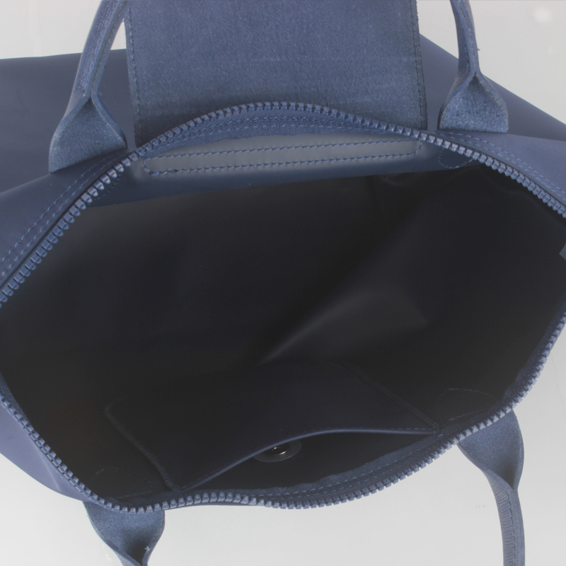 84a6106f398d Francee Made Longchamp Le Pliage Neo Small Handbag Navy 1512578556 Authentic