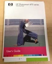 HP Photosmart 470 Series Printer Manual User's Guide - $8.12
