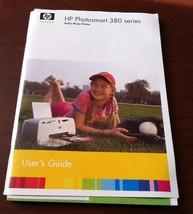 HP Photosmart 380 Series Printer Manual User's Guide - $8.12