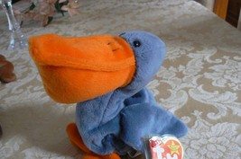 "Rare TY Original Beanie Babies "" Scoop "" The Pelican Errors- #4107-Retired image 2"