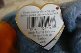 "Rare TY Original Beanie Babies "" Scoop "" The Pelican Errors- #4107-Retired image 12"