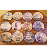 Great American Sailing Ships Plates All 12 /  Complete Set - $299.99