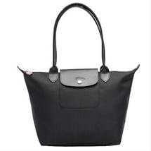 Longchamp Le Pliage Neo Small Tote Bag Black 2605578001 Authentic - $139.50