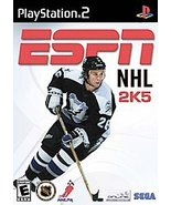 ESPN NHL 2K5 Sony PlayStation 2 2004 Video Game W Instructions FREE SHIP... - $9.09