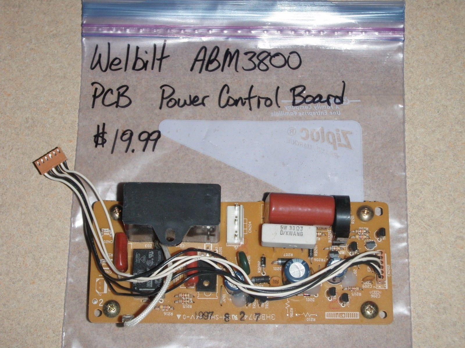 Welbilt Bread Machine Power Control Board (PCB) ABM3800 Parts - $18.69