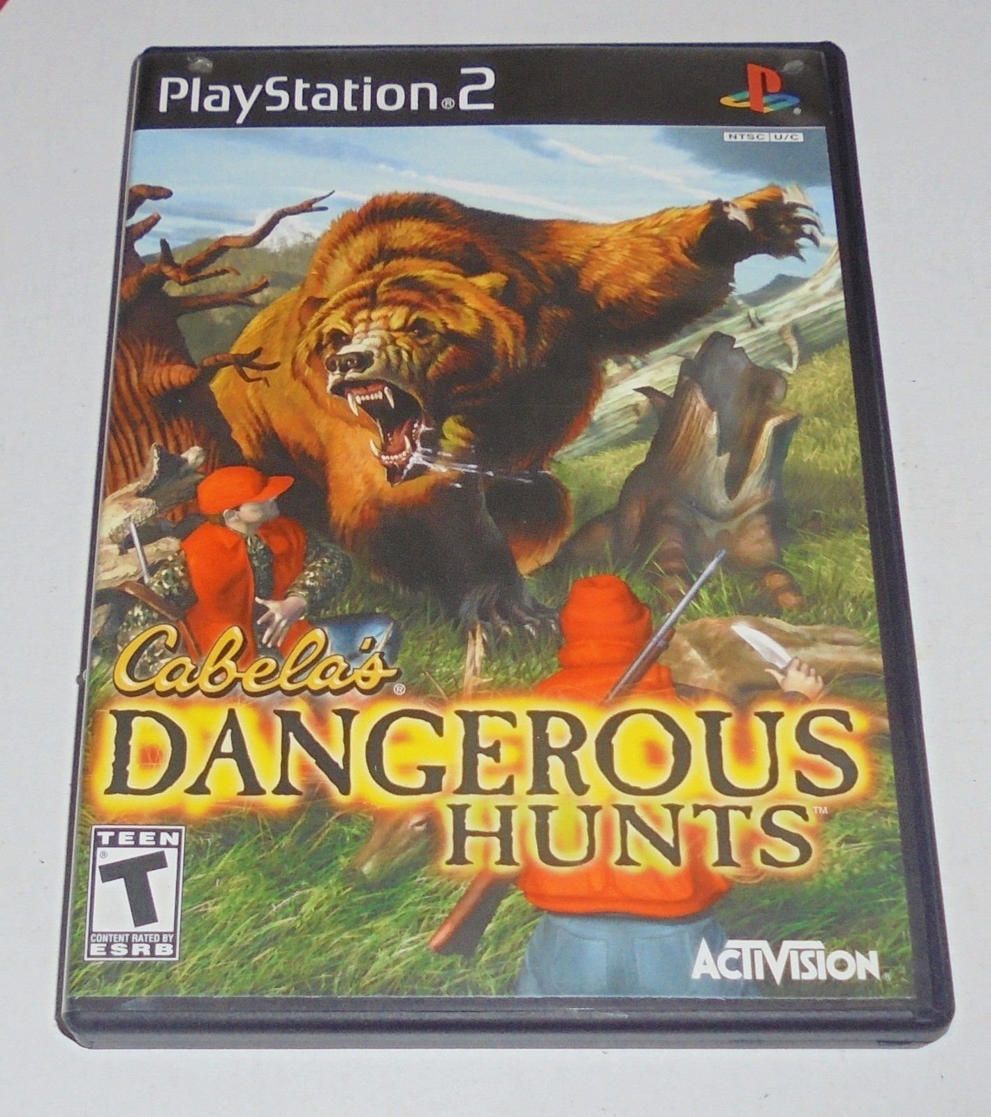 Cabela's Dangerous Hunts (Sony PlayStation 2, 2003) Video Game Complete
