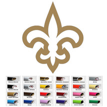 Fleur De Lis Art Window Decal Sticker for Vinyl Automobil Laptop Car Bumper Wall - $4.20+