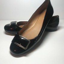 COACH Women Classic Black Unique Patent Ballet Flats Shoes Sz 8B - $61.33