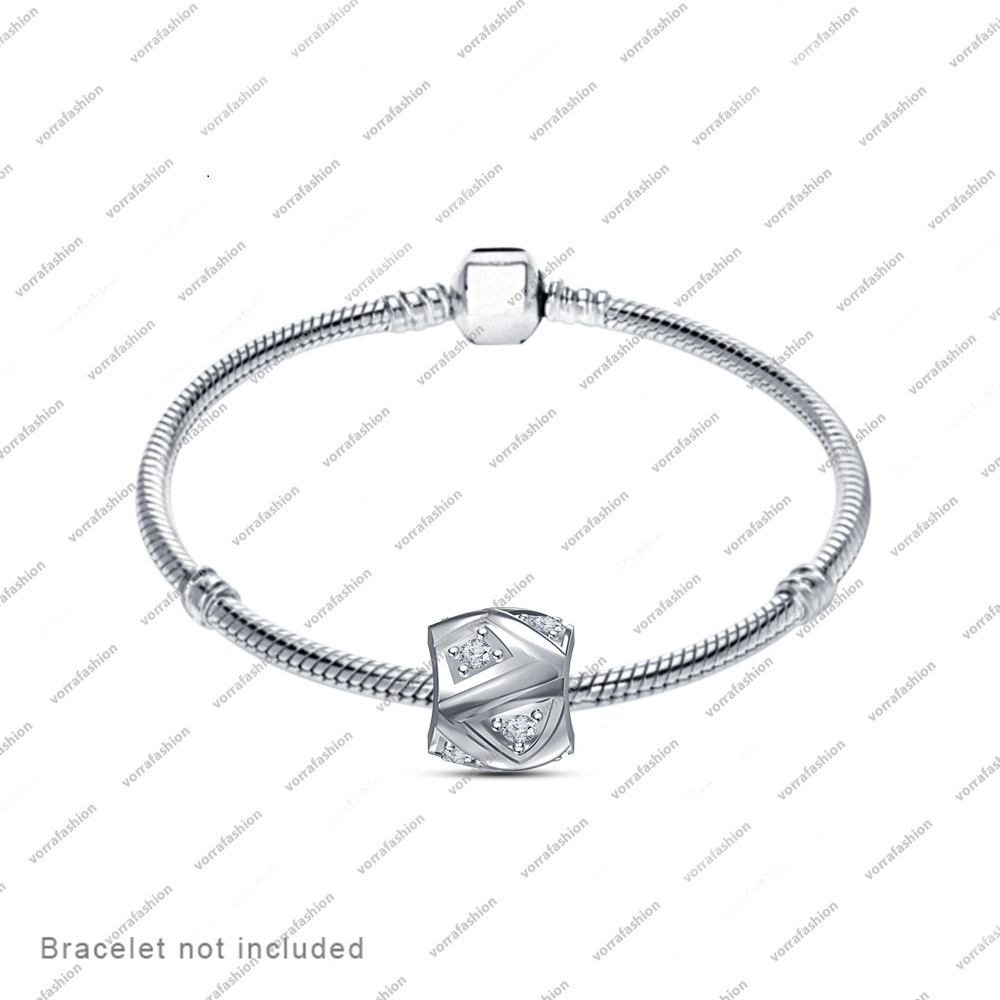 Necklace & Bracelet Charm Fit Pandora & Chamilia Jewelry In 925 Sterling Silver