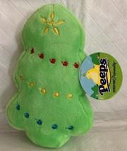 "Dan Dee Peeps GREEN CHRISTMAS TREE PEEP 5"" Plush STUFFED NEW Stocking St... - $9.89"