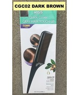 KISS COLORS QUICK COVER GRAY HAIR TOUCH UP CGC02 DAREK BROWN COMB TYPE - $4.59