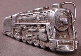 Vtg Train Belt Buckle-Bergamot Brass Works-1978-Distressed-Engine-K 39-T... - $20.56