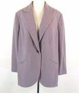 RALPH LAUREN Size 22W 2X New NWT Soft Wool Blend Blazer Jacket Longer Le... - $89.99